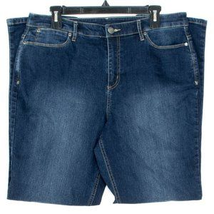 Christopher & Banks Womens Jeans Blue 12 FO